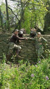 Ladies Hunting for Turkeys